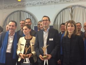 Robert Clapham remporte le prix du Directeur Administratif et Financier pour son travail chez Kerlink