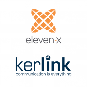 logo eleven-x & Kerlink